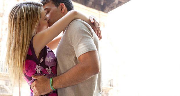 trouver le bon moment pour l'embrasser